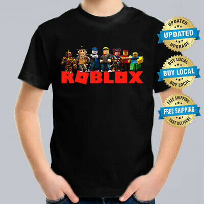 ROBLOX GANG Kids T-Shirt, Children Computer Game Tee Size 0-16
