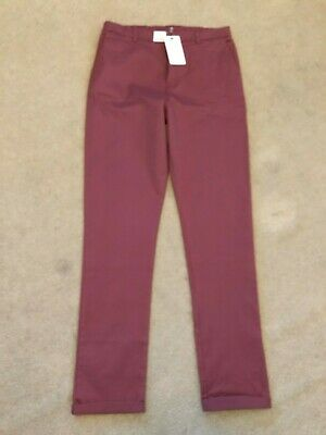 Marks and Spencer - BNWT - Chino Trousers - Age 15-16 Years - XL