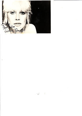 Vivienne Johnson The Nurse In Are You Being Served Photocard Signed Autograph
