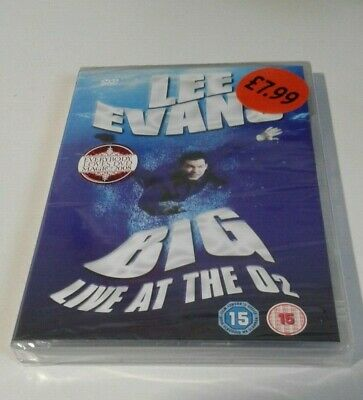 Lee Evans Big Live At The O2,Dvd New & Sealed