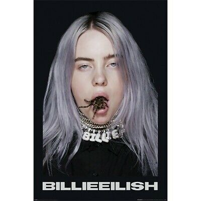 Billie Eilish Official Spider Poster 24 x 36 When We All Fall Asleep Bad Guy NEW