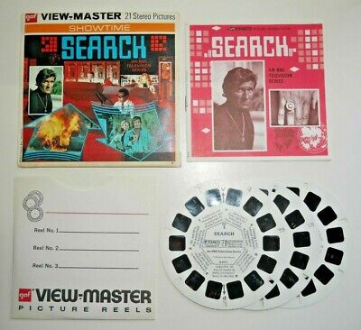 Search Viewmaster Reels 1973 Original Set B591 Rare Complete   G294