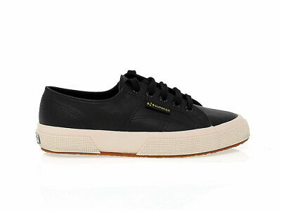 Sneakers SUPERGA S009YP0 N in black ecoleather - Women's Shoes