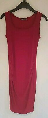 BOOHOO MATERNITY BODYCON DRESS SIZE 10 Casual/Summer/Everyday/Stretchy