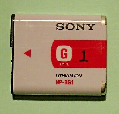 Genuine Sony G TYPE NP-BG1 Digital Camera Battery