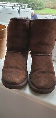 Girls Brown Ugg Boots Size 13