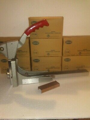 DWS 27 ADJUSTABLE CARTON STAPLER with 14000 staples! (BB)