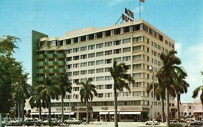 The Biscayne Terrace Hotel, Miami, Florida, Vintage, Stamped 1959 Postcard A58
