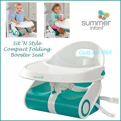 Summer Infant Sit 'N Style Seat Compact Folding Feeding Seat NEW