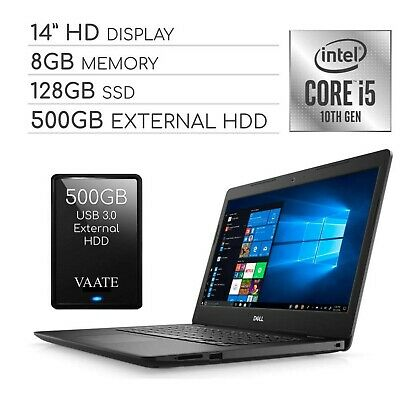 "Dell Inspiron 2020 14"" HD Laptop Computer, 4-Core Intel i5-1035G4 up to 3.7 G..."
