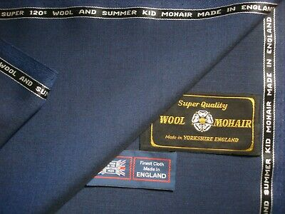 Taylor /& Lodge 3.4 m. 100/% SUPER 120's WOOL SUITING FABRIC MADE IN ENGLAND BY
