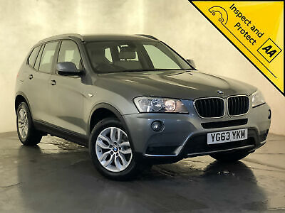 2013 63 Bmw X3 Xdrive 20D Se Sat Nav White Leather Parking Sensors Svc History