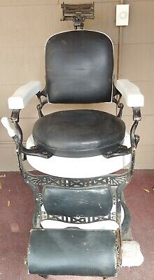 Early 20th Century Koken Barber Chair