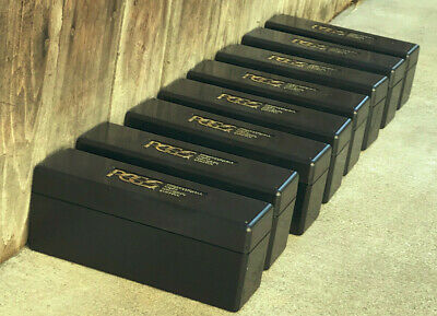 Lot of Eight (8) PCGS Black Coin Holders / Storage Boxes Holds up to 160 Coins