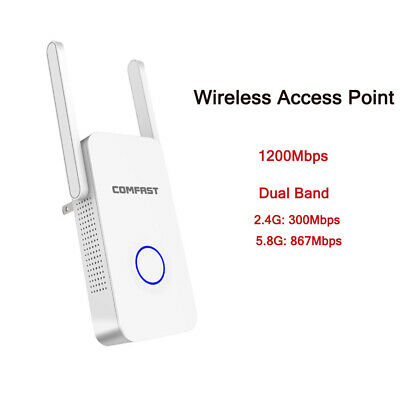 COMFAST CF-EW72 1200Mbps 802.11AC Dual-Band Outdoor Wireless AP Router F2N5