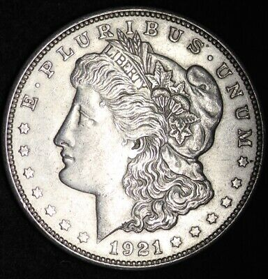 1921-D Morgan Silver Dollar VG / VF 90% SILVER FREE SHIPPING! ONLY DENVER MINT!