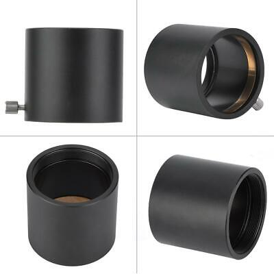 2 Inch SCT Mount Astronomy Telescope Adapter for Telescope Aluminum Alloy Black