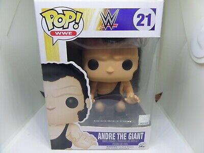 Funko Pop WWE Andre The Giant Comes In Pop Protector