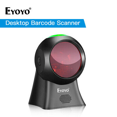 Eyoyo Handfree USB Wired Desktop Laser Barcode Scanner Automatic Wake Up for POS