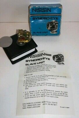 NISSIN SYNCRO-EYE FLASH SLAVE UNIT, In Original box with Instructions