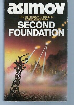 Second Foundation by Isaac Asimov Vintage Sci-Fi Used Paperback. 1983