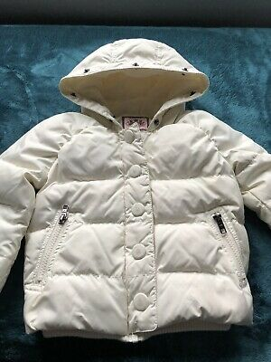 Juicy Couture Coat Jacket toddler girls adorable hooded puffer Size 3Y
