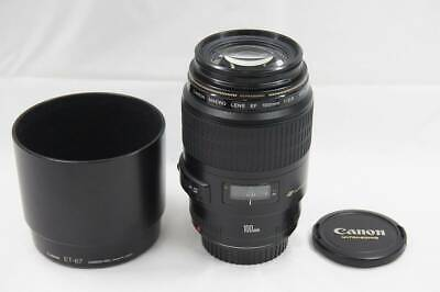 Canon EF 100mm F2.8 MACRO USM Single Focus Lens EXC++