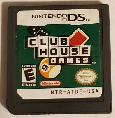 Clubhouse Games (Nintendo DS, 2006) Cartridge Only