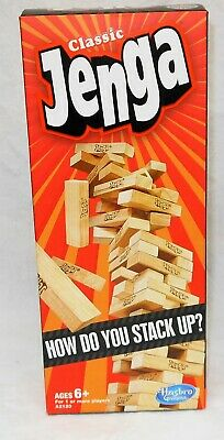 Classic Jenga The Wood Block Game - 2012 - New In The Box