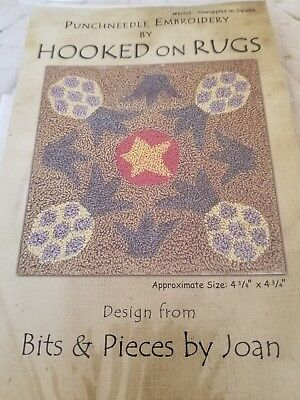 Hooked On Rugs Needle Pattern #1203 Pineapples in Square
