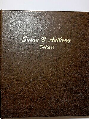 Proof 1979-1980 Anthony Dollars Dansco Album Replacement Page 1 8180 Susan B