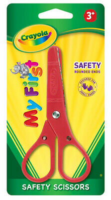 Crayola Safety Kids Tip Scissors Ages 3+ - Assorted Colours