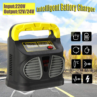 220V Réparation d'impulsion Voiture Chargeur de Batterie Automatique Intelligent