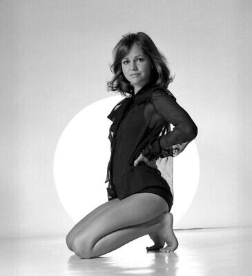 Sally Field - In A One Piece Sitting On Her Ankles !!