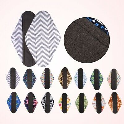 Cloth Menstrual Pad Mama Cloth Sanitary Bamboo Charcoal Bag Reusable Washable