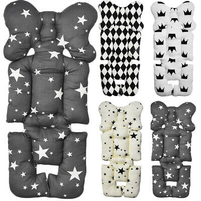 US Baby Newborn Car Seat Stroller Pad Cushion Mat Pillow Support Body Head Liner