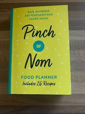 Pinch of Nom Food Planner Includes 24 Recipes 13 June 2019 F&f UK