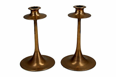 A pair of Arts & Crafts candlesticks Attributed to Dryad