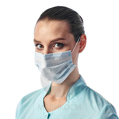 100 Surgical/medical face mask 3 Layer Disposable Face Mask protect Coronavirus
