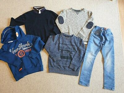 Boys Next Jumper/ Hoodie/ Jeans Bundle Size 6-7 Years