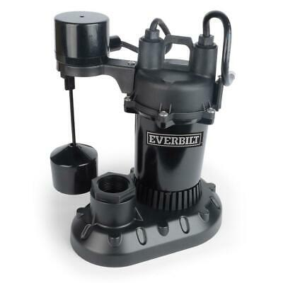 1/3 HP Aluminum Sump Pump with Vertical Switch