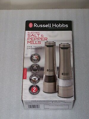 Russell Hobbs Electric Salt & Pepper Mill Set - RHPK4100