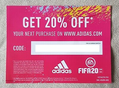 Adidas 20% OFF Online Discount Code from Full Priced Items Trainers Jackets etc