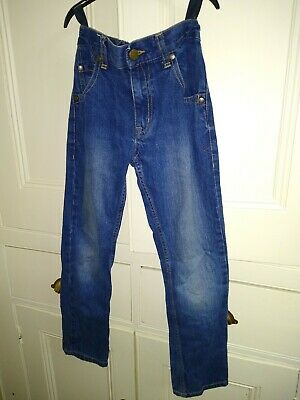 Debenhams Blue Zoo Denim Jeans 9 Years 134 cms Waist 61 cms