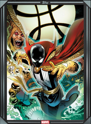 2020 COMIC BOOK DAY SILVER SYMBIOTE SPIDER-MAN REALITY # 3 Topps Marvel Collect