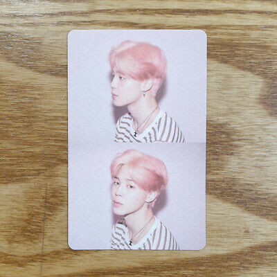 Jimin Official Photocard BTS Map Of The Soul : Persona ver. 01 Genuine Kpop