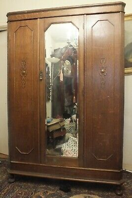 Beautiful Antique Double Wardrobe