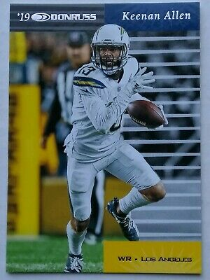 One (1) 2019 Panini Donruss Retro 1999 RE-23 Keenan Allen Los Angeles Chargers