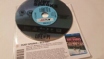 Ruby Sparks - UK Bluray - Discs Only - 102