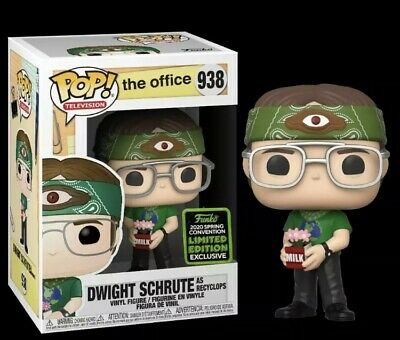 Funko Pop The Office Dwight Schrute As Recyclops - ECCC 2020 Exclusive PREORDER